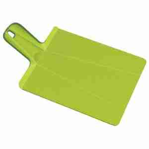 Chop-2-Pot Plus Non Slip Cutting Board in Green by Joseph Joseph