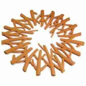 Pot Trivet That Looks Like a Camp Fire