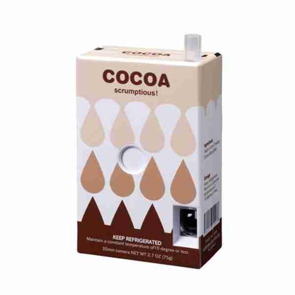 Fuuvi Juice Box 35mm Film Point-n-Click Camera - Cocoa