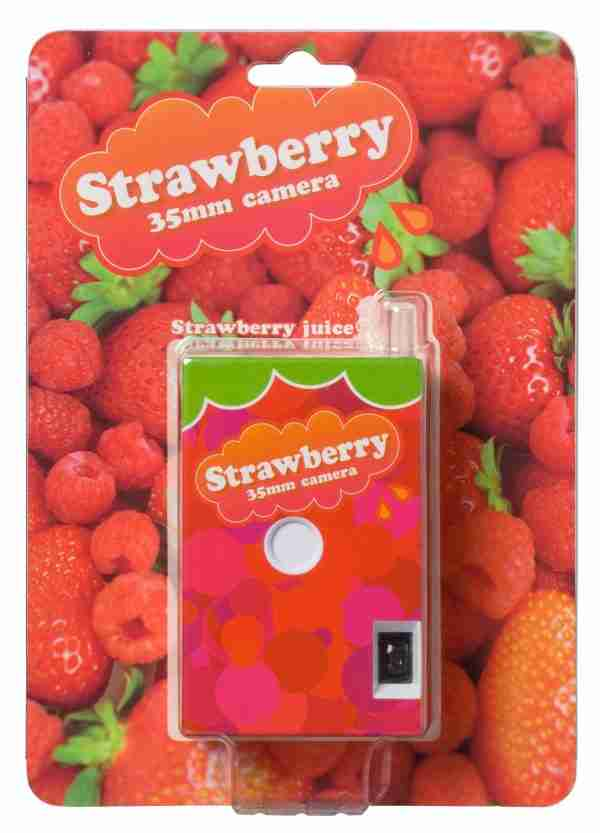 Fuuvi Juice Box 35mm Film Point-n-Click Camera - Strawberry