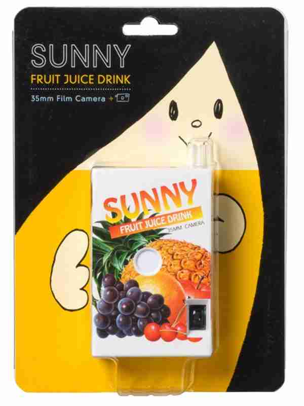Fuuvi Juice Box 35mm Film Point-n-Click Camera - Sunny