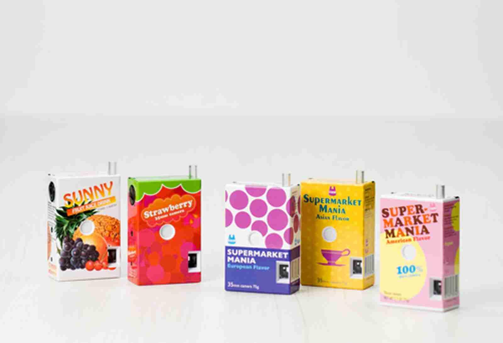 Fuuvi Juice Box 35mm Film Point-n-Click Camera - Apple