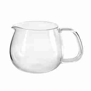 The UNITEA Glass Pitcher or Jug by Kinto Japan