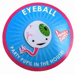 Eyeball Lapel Pin by I Heart Guts