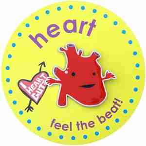 Heart Lapel Pin by I Heart Guts