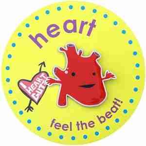 Heart Lapel Pin by I Heart Guts