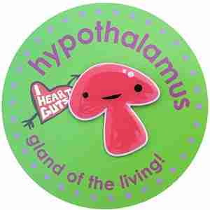 Hypothalamus Lapel Pin by I Heart Guts