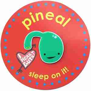 Pineal Gland Lapel Pin by I Heart Guts