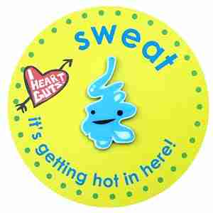 Sweat Gland Lapel Pin by I Heart Guts