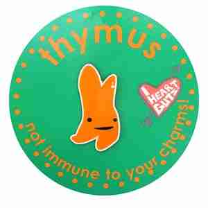 Thymus Lapel Pin by I Heart Guts