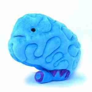 Big Brain Plush Toy By I Heart Guts