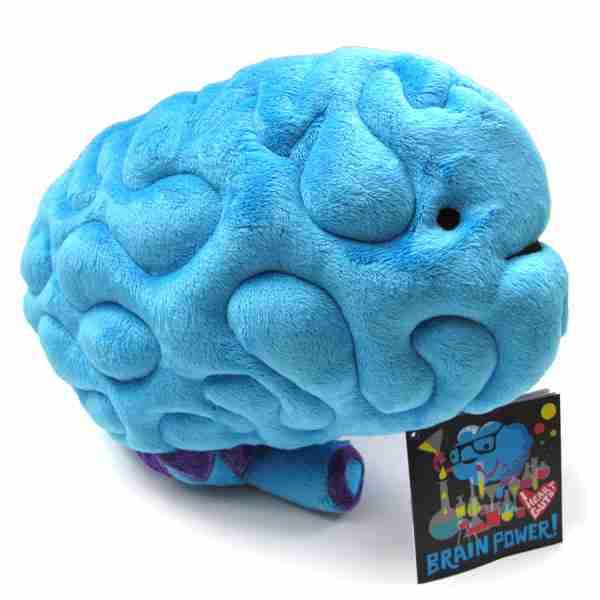 Big Brain Plush Toy By I Heart Guts