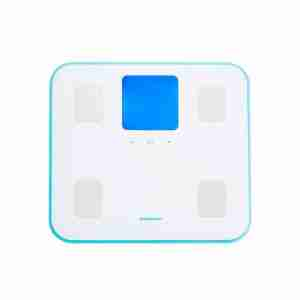 Legere470: Ultra Light Body Analysis Bathroom Scales - Blue