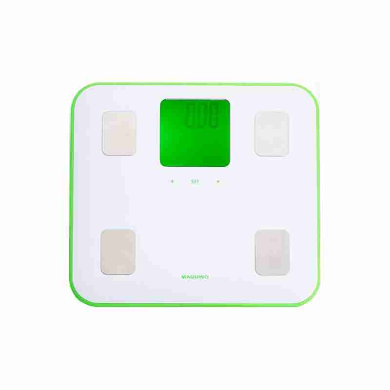 Legere470: Ultra Light Body Analysis Bathroom Scales - Green