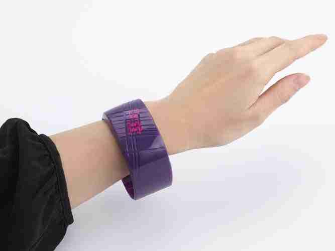 Untrod Madokadoke Wrist Watch Purple