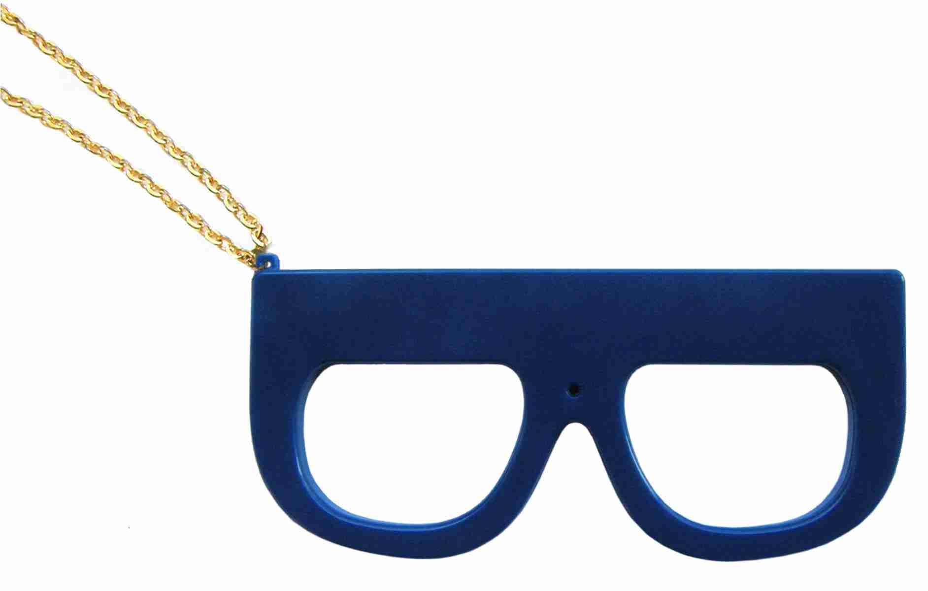 Fuuvi Megane (Glasses) Digital Camera - Blue