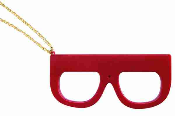 Fuuvi Megane (Glasses) Digital Camera - Red