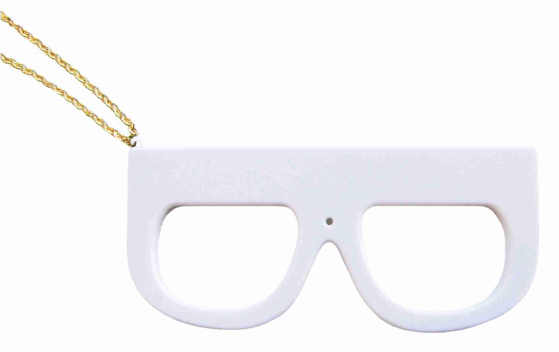 Fuuvi Megane (Glasses) Digital Camera - White