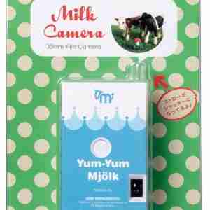 Fuuvi Milk Box 35mm Film Point-n-Click Camera - Yum-Yum