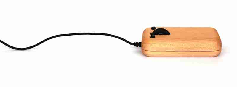 Wooden Computer Mouse in Walnut by Hacoa