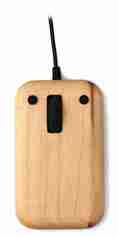 Wooden Computer Mouse in Maple by Hacoa