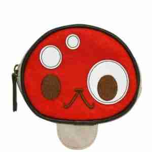 Smiling Mushroom Coin Purse by Crowded Teeth