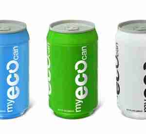 My ECO Can Drink Bottle - Blue