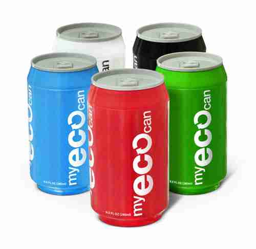 My ECO Can Drink Bottle - Green
