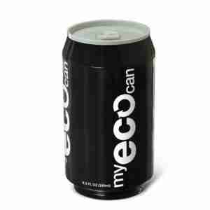 My ECO Can Drink Bottle - Black
