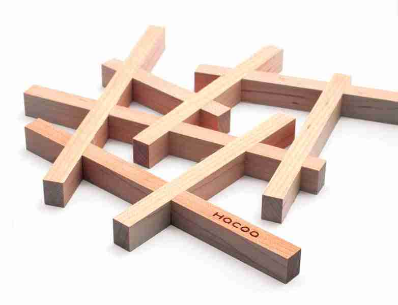 Nest Wooden Heat Mat Trivet in Walnut by Hacoa