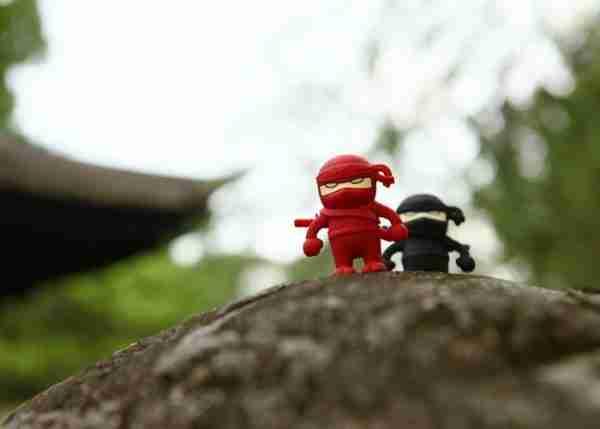 Bone Collection Black Ninja 4Gb USB Flash Personal Digital Storage Drive