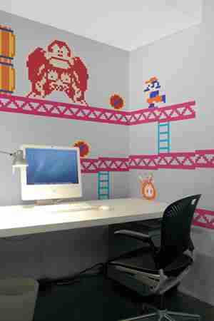 Nintendo Donkey Kong RE-STIK Wall Sticker / Decal