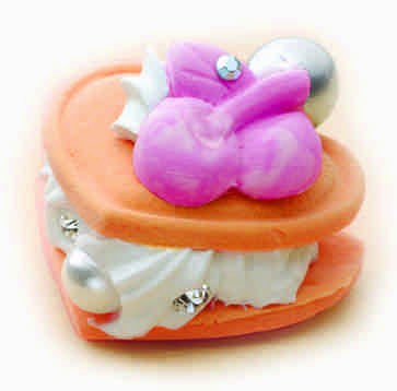 Paper Clay Miniature Food Kit - Orange (Large)