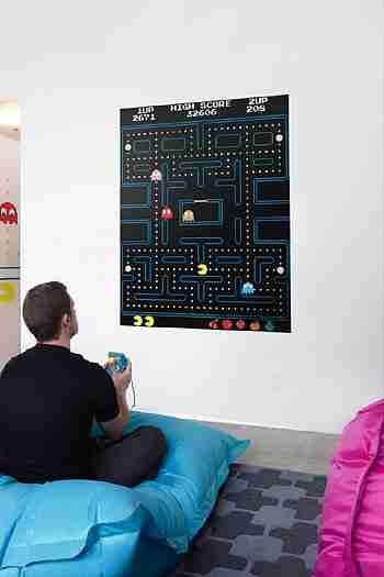 Pac-Man Maze Wall Sticker by Namco