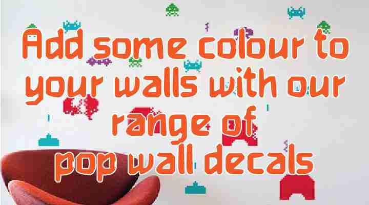 Fox & Monocle Blick Wall Decals Banner
