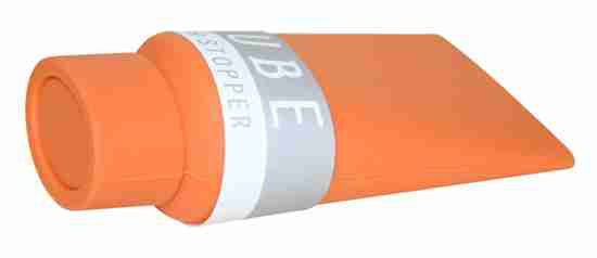 Orange Paint Tube Doorstopper by +d Japan
