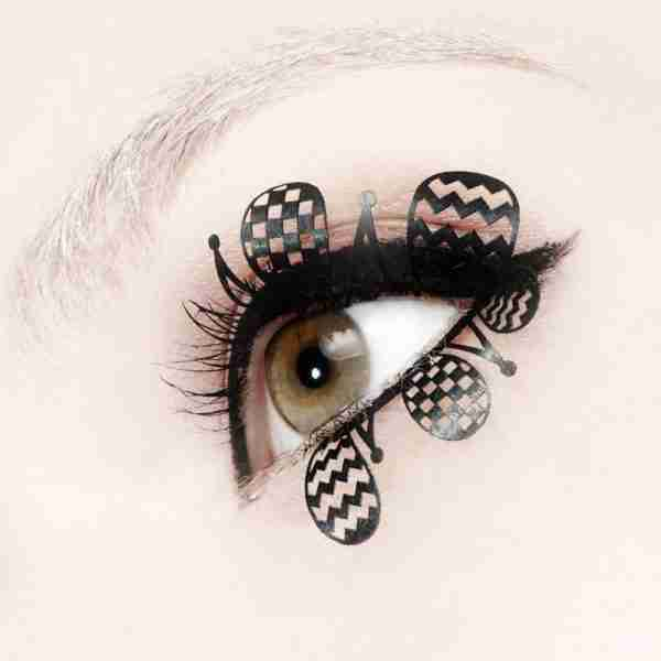 """Clown"" Paper Eyelashes (Large) by PAPERSELF"