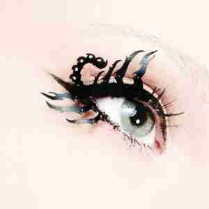 """Scorpion"" Paper Eyelashes (Large) by PAPERSELF"