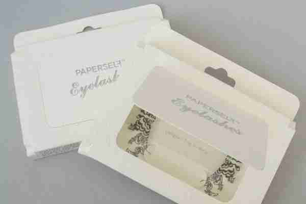 """Peonies"" Paper Eyelashes (Large) by PAPERSELF"