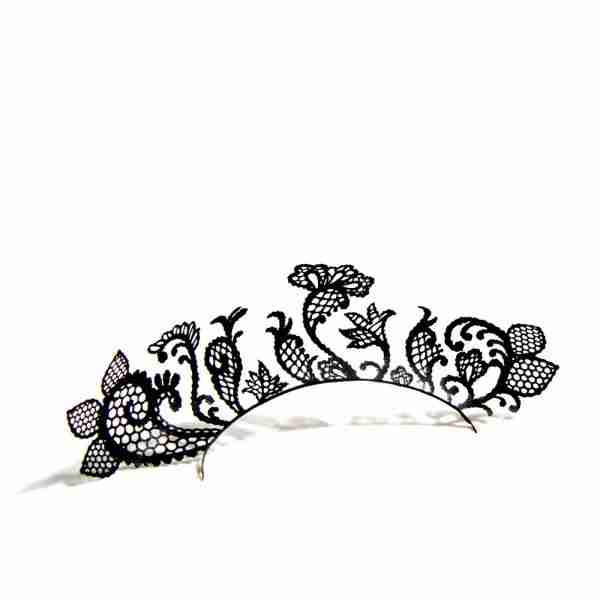 Lace Garden Victoria & Albert Museum Paper Eyelashes (Large) by PAPERSELF