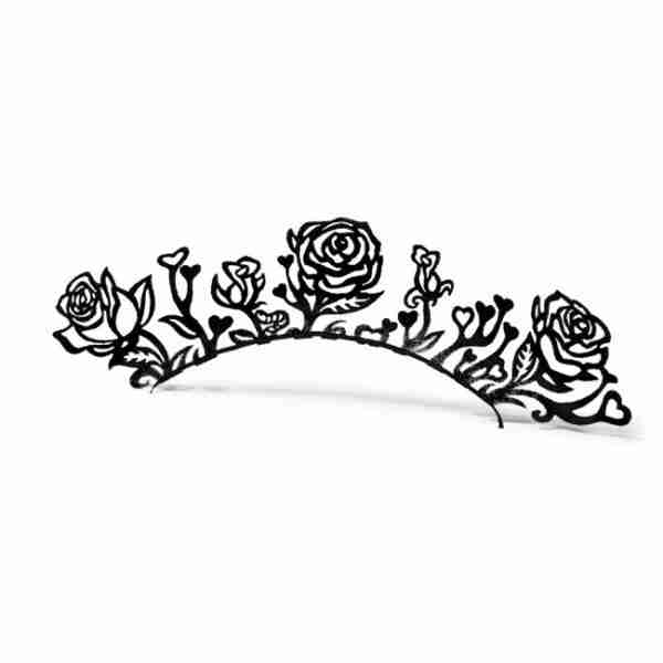 Rose Paper Eyelashes (Large) by PAPERSELF