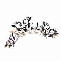 """Peach Blossom"" Paper Eyelashes (Large) by PAPERSELF"