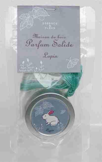Maison du bois Solid Perfume (Rabbit) by ArtLab Japan