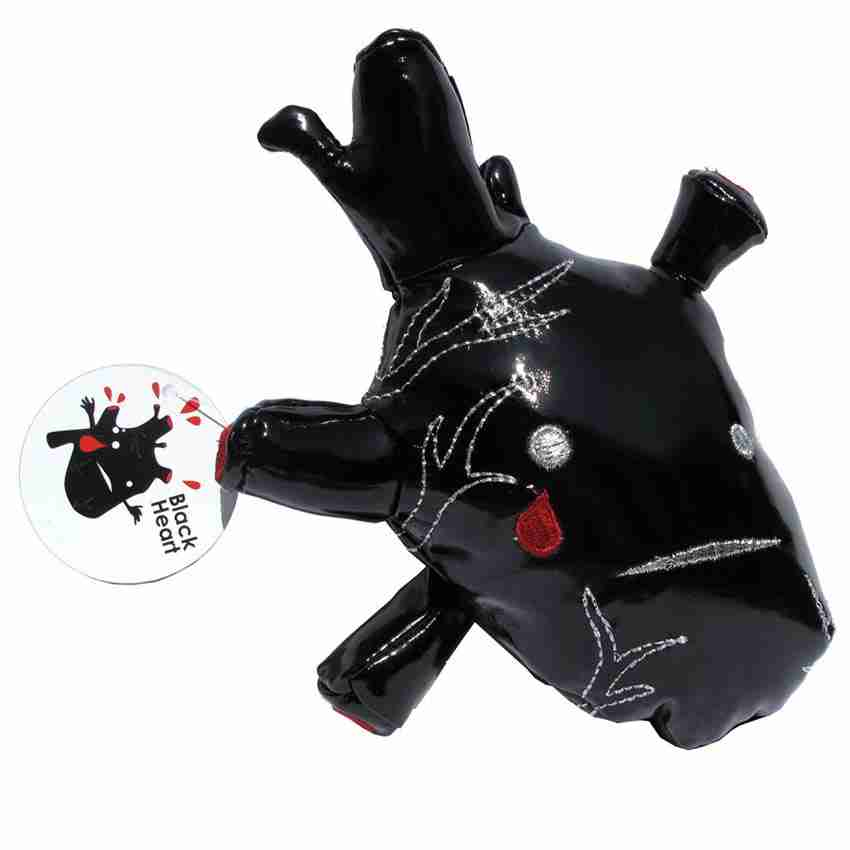 Black Heart Plushie - Limited Edition Plush by I Heart Guts
