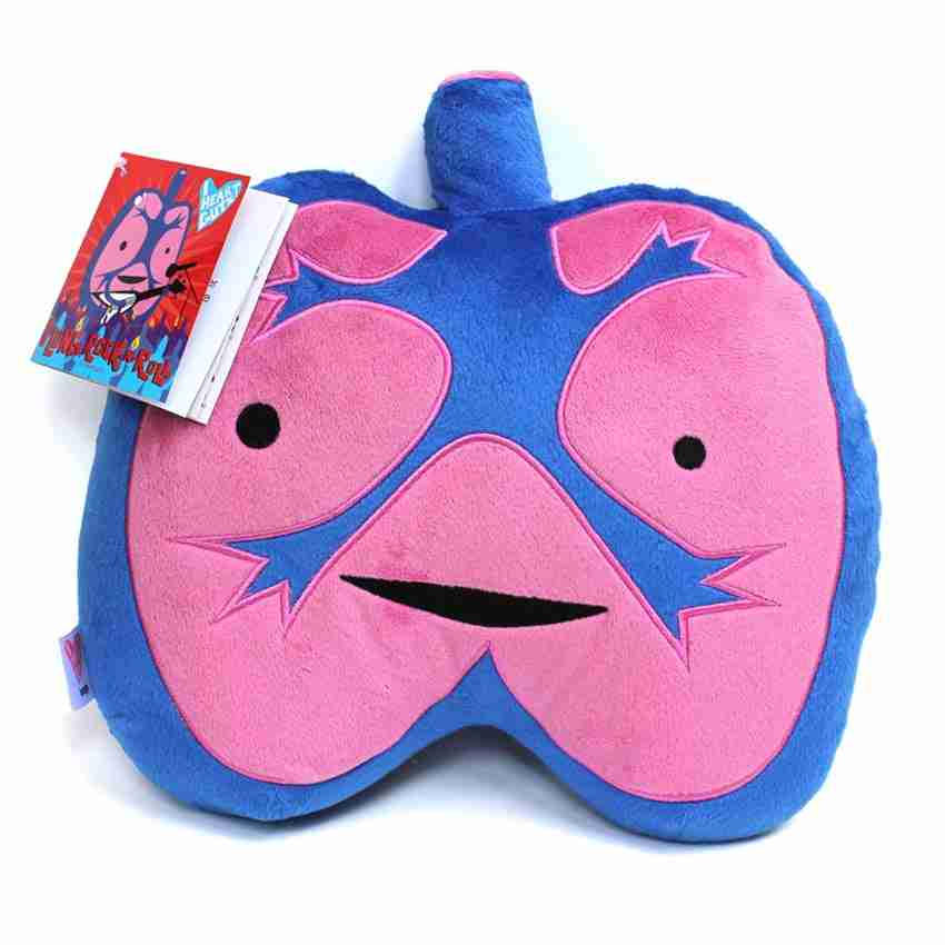 Lungs Plushie - Dont Hold Your Breath by I Heart Guts