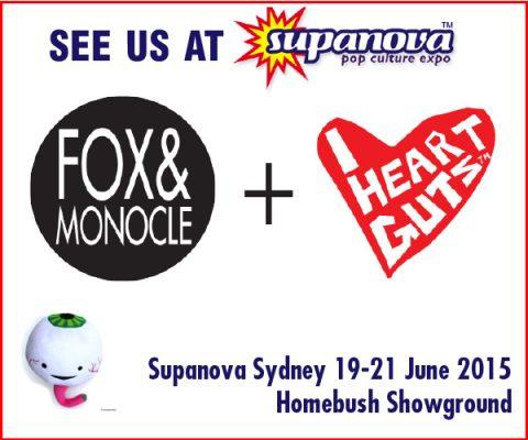 Fox and Monocle at Sydney Supanova 2015