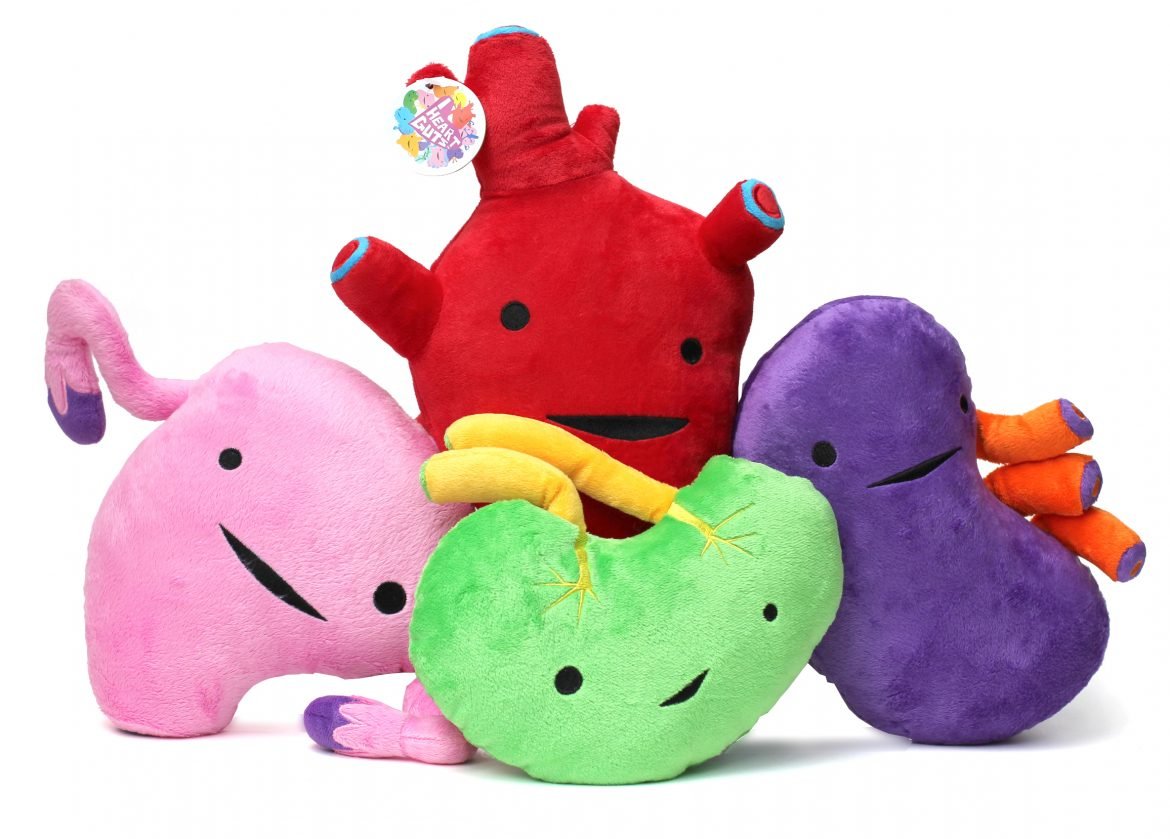 I Heart Gut's Plush Back in Stock November 2015