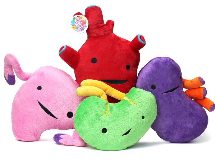 I Heart Guts Plush Stock Just Arrived!