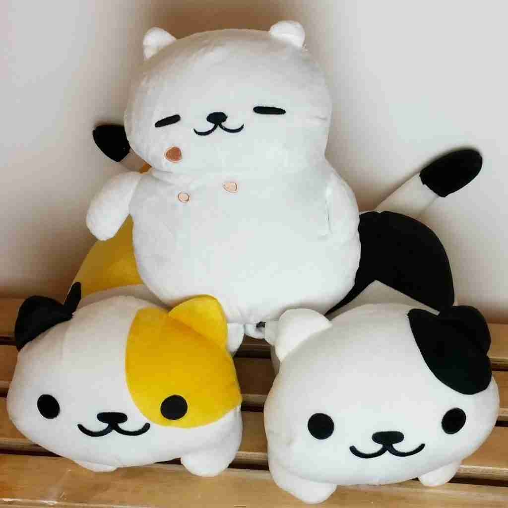 Neko Atsume Cat Plush for Sydney Supanova 2016