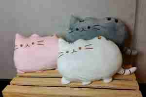New Pusheen Cat Cushion on Fox and Monocle